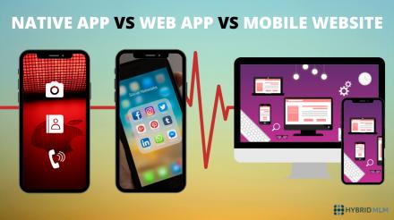 NATIVE APP VS WEB APP VS MOBILE WEBSITE