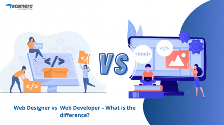 Web Designer vs  Web Developer – What is the difference?