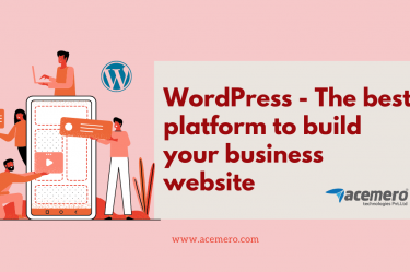 WordPress - The best platform to build your business website - Acemero blogs
